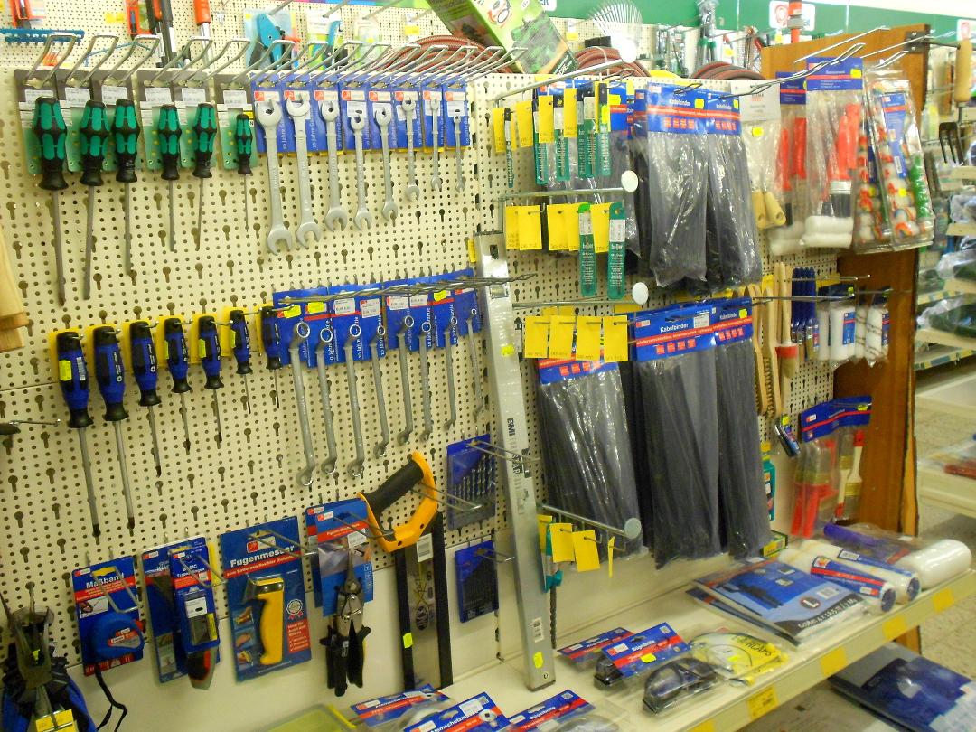 Werkzeuge Regal